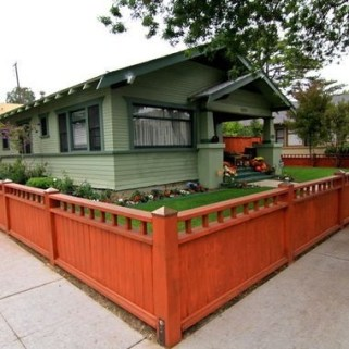 Amazing House Fence You Can Build In Your Garden 23