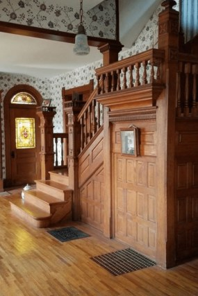 Best And Elegant Wooden Stairs In Your House 06