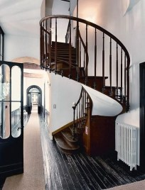Best And Elegant Wooden Stairs In Your House 12