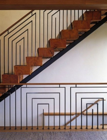 Best And Elegant Wooden Stairs In Your House 16