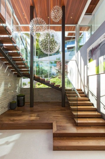 Best And Elegant Wooden Stairs In Your House 17