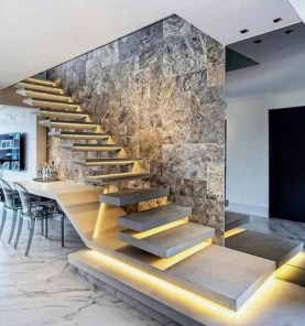 Best And Elegant Wooden Stairs In Your House 22