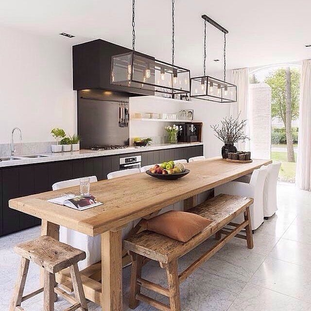 Inspiring Scandinavian Furniture For Your Kitchen Decoration 16