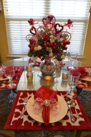 Romantic Table Decoration For Valentine's 04