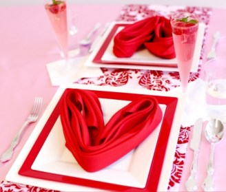 Romantic Table Decoration For Valentine's 12