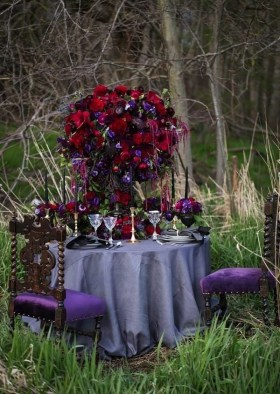 Romantic Table Decoration For Valentine's 23