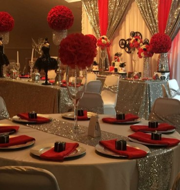 Romantic Table Decoration For Valentine's 32
