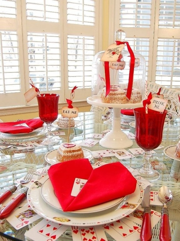 Romantic Table Decoration For Valentine's 36