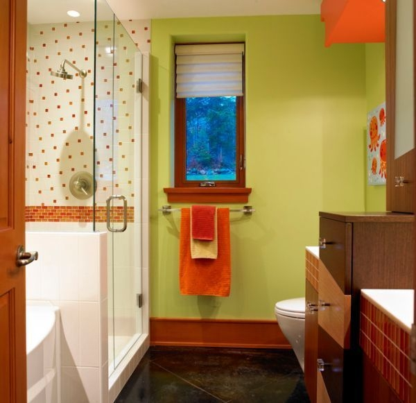Stunning Colorful Bathroom Decoration For Your Kids 07