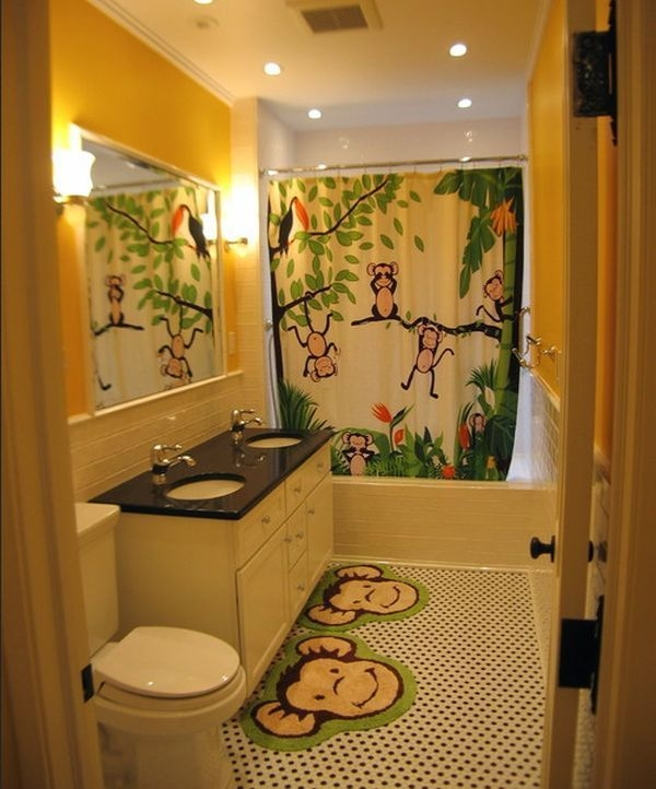 Stunning Colorful Bathroom Decoration For Your Kids 08