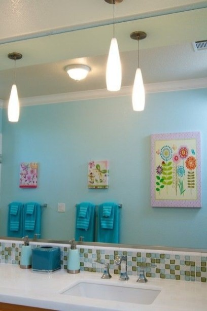 Stunning Colorful Bathroom Decoration For Your Kids 32