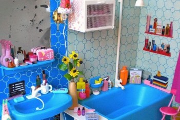 Stunning Colorful Bathroom Decoration For Your Kids 33