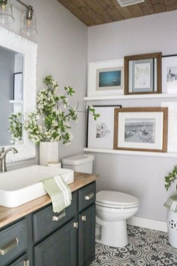 Vintage Farmhouse Bathroom Decor You Will Try 32