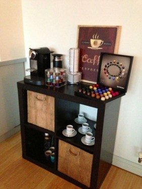 Amazing Diy Coffee Station Idea In Your Kitchen 08