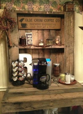 Amazing Diy Coffee Station Idea In Your Kitchen 16