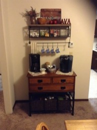 Amazing Diy Coffee Station Idea In Your Kitchen 17