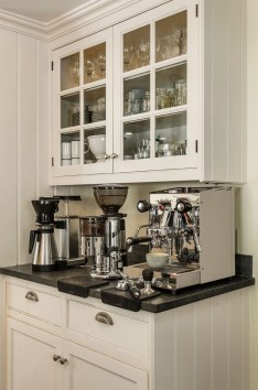 Amazing Diy Coffee Station Idea In Your Kitchen 25