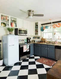 Awesome Kitchen Floor To Design Your Creativity 13