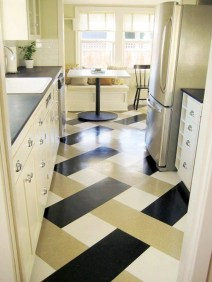 Awesome Kitchen Floor To Design Your Creativity 20