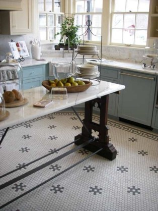 Awesome Kitchen Floor To Design Your Creativity 23