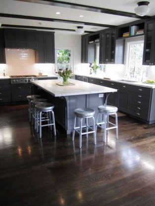 Awesome Kitchen Floor To Design Your Creativity 24