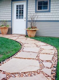 Best Walkways Idea In Your Front Yard 36