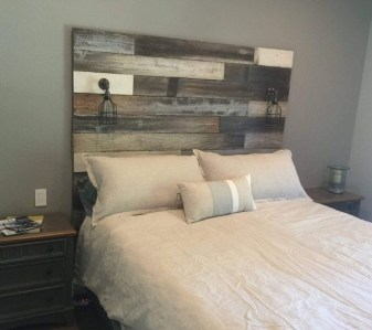 Cheap And Easy DIY Headboard For Your Bedroom 07