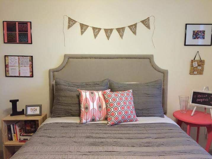 Cheap And Easy DIY Headboard For Your Bedroom 16