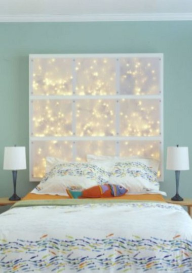 Cheap And Easy DIY Headboard For Your Bedroom 22
