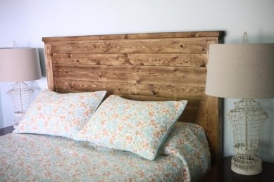 Cheap And Easy DIY Headboard For Your Bedroom 33