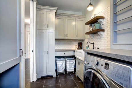 Contemporary Laundry Room Decor Ideas You Can Try For Your House 02