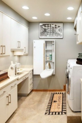 Contemporary Laundry Room Decor Ideas You Can Try For Your House 10
