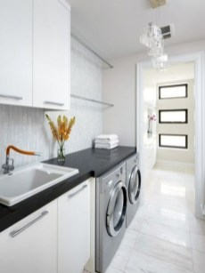 Contemporary Laundry Room Decor Ideas You Can Try For Your House 23