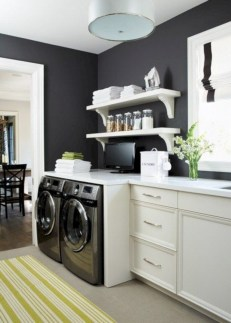 Contemporary Laundry Room Decor Ideas You Can Try For Your House 24