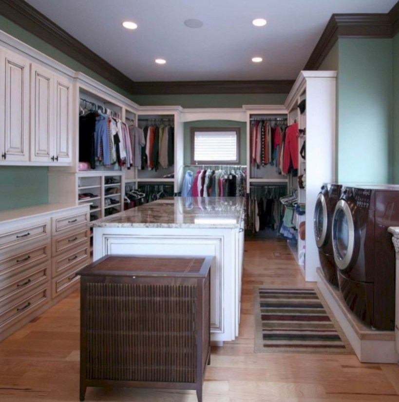 Contemporary Laundry Room Decor Ideas You Can Try For Your House 29