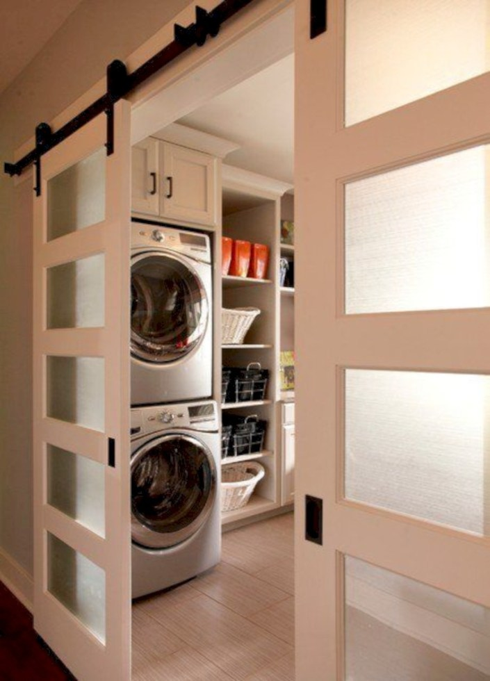 Contemporary Laundry Room Decor Ideas You Can Try For Your House 30