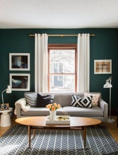 Cozy And Simple Rug Idea For Small Living Room 30