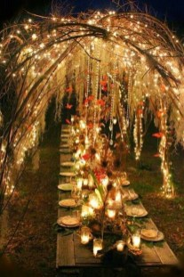 Create Beautiful Outdoor Wedding Decoration You Will Love 09
