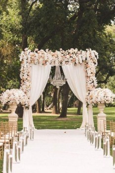 Create Beautiful Outdoor Wedding Decoration You Will Love 14