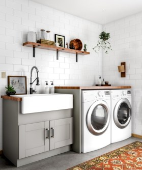 Creative And Inspiring Laundry Room Decor Idea 20