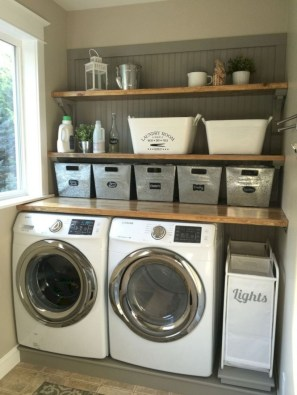 Creative And Inspiring Laundry Room Decor Idea 27