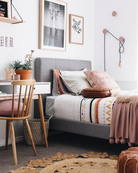 Impressive Bedroom Decoration Idea For Teen Style 22