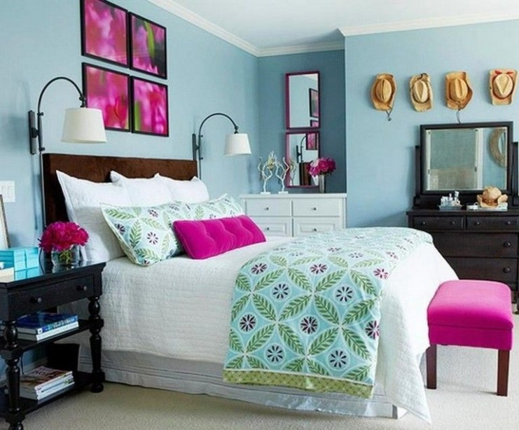 Impressive Bedroom Decoration Idea For Teen Style 26