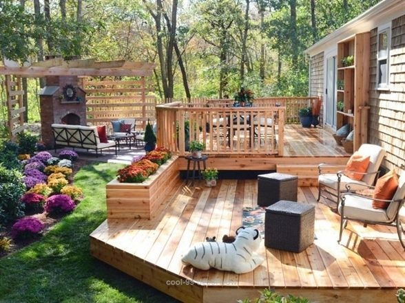 Incredible Small Backyard Ideas For Relax Space 25