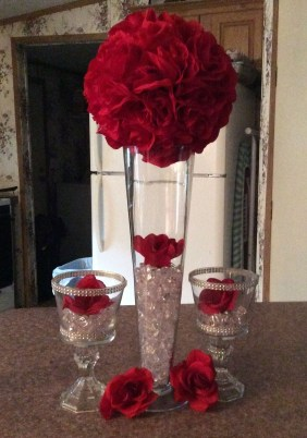 Simple Centerpieces Decoration For Inspiration Your Wedding 33