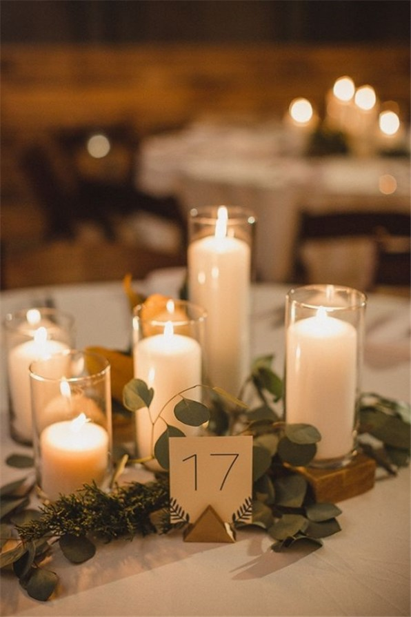Simple Centerpieces Decoration For Inspiration Your Wedding 37