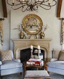 Spring Mantel Decorating Ideas For Fireplace In Living Room 03