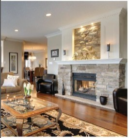 Spring Mantel Decorating Ideas For Fireplace In Living Room 04