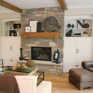 Spring Mantel Decorating Ideas For Fireplace In Living Room 14