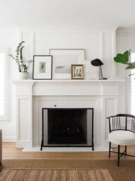 Spring Mantel Decorating Ideas For Fireplace In Living Room 21